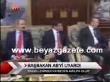 Başbakan Ab'yi Uyardı