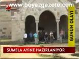 Sümela Manastırı'nda Tarihi Ayin