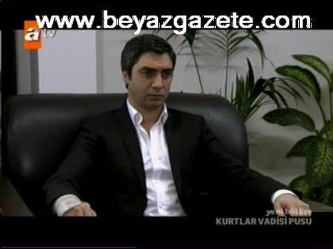 Kurtlar Vadisi Pusu 108. Bölüm Ersoy Ulubey'in Yüzü Parçalandı