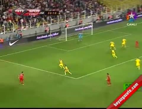 Türkiye Romanya: 0-1 (Maçın Geniş Özeti 2012)