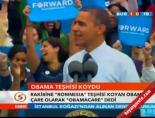 Obama teşhisi koydu