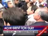 Diyarbakır'da eyleme polis müdahalesi