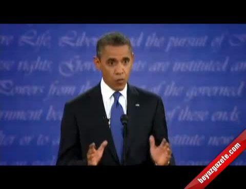 Obama İle Romney İlk Tartışmasını Yaptı