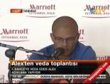 Alex De Souza'nın Veda Toplantısı -1(Basın Toplantısı) Haberi online video izle