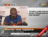 Alex De Souza'nın Veda Toplantısı -4 (Basın Toplantısı) Haberi