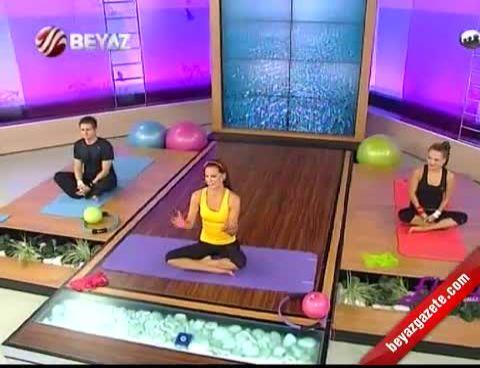 Ebru Şallı İle Pilates (Plates) - 9.10.2012 Beyaz TV