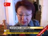 Ata'nın son dakikalarını geçirdiği Dolmabahçe Sarayı'nda tören düzenlendi
