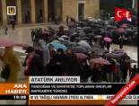 Tandoğan ve Sıhhiye'de toplanan gruplar Anıtkabir'e yürüdü