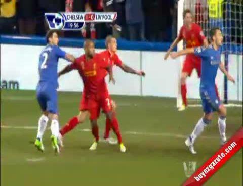 Liverpool - Chelsea: 1-1 (Maç Özeti)