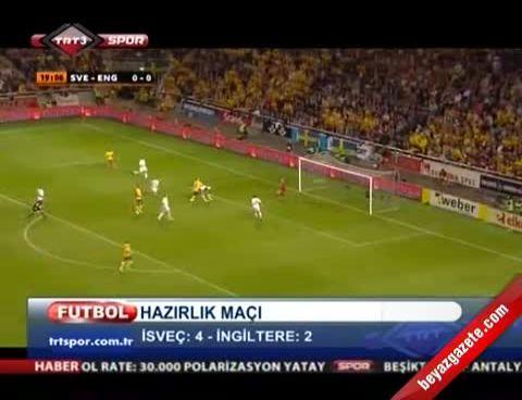 İsveç - Ingiltere: 4-2 (Maçın Özeti 2012)