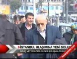 İstanbul'da ulaşıma yeni soluk