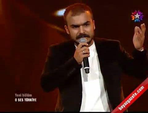 O Ses Türkiye - Mustafa Bozkurt'tan 'Kafama Sıkar Giderim'
