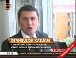 İstanbul'da katliam