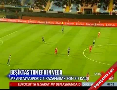 Antalyaspor Beşiktaş: 2-1 Maçın Özeti (13 Aralık 2012)