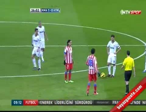İspanya La Liga: Real Madrid 2 - 0 Atletico Madrid Maçı Golleri