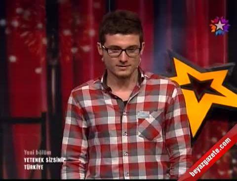 Yetenek Sizsiniz Türkiye Son Bölüm - Alkan Cambaz'dan İlginç İlizyon Gösterisi