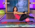 Ebru Şallı İle Pilates (Plates) Ebruli 24.12.2012 online video izle