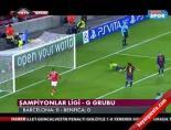 Barcelona Benfica: 0-0 Maçın Özeti online video izle