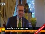 Erdoğan'a ziyaretler