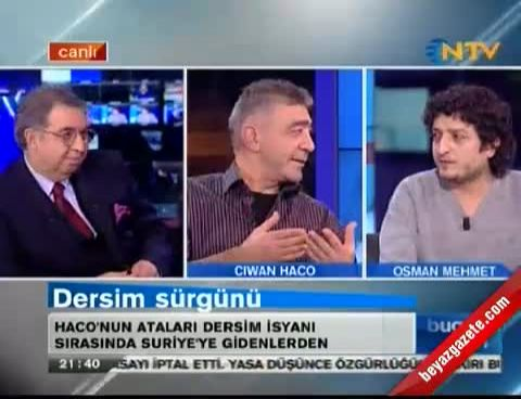 Ciwan Haco: Türkiye Kürt Sorununu Çözmeye Mecbur