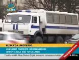Rusya'da protesto