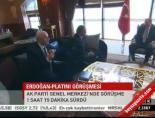 Erdoğan-Platini görüşmesi