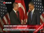 Obama'dan Suriye açıklamasıHaberi