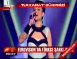 Eurovision'dan Türkçe şarkı jesti online video izle