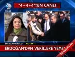Erdoğan'dan vekillere yemekHaberi