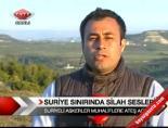 Suriyeli Askerler Muhaliflere Ateş Açtı .