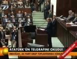 Atatürk'ün telgrafını okudu! online video izle