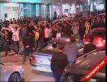 Erzurumda Galatasaray Fenerbahçe Maçı Çoşkusu