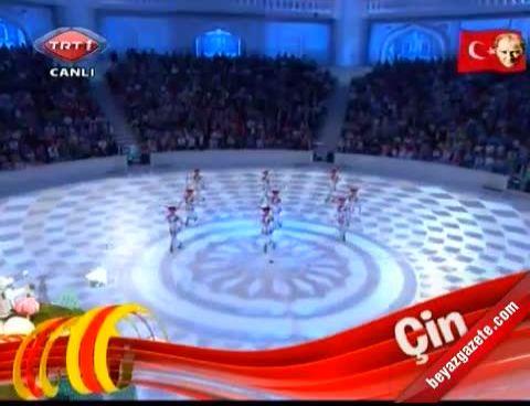 Çin Gösterisi - 23 Nisan 2012 Galası (China Int. April 23 Children Fest 2012)