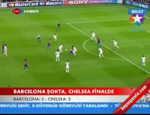 Barcelona-Chelsea Maçı Geniş Özeti (Tüm Goller)