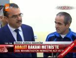 Adalet Bakanı Metris'te online video izle