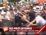 İşçi-Polis çatışması