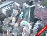 Polis Helikopterinden 1 Mayıs Manzaraları