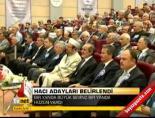 Hacı adayları belirlendi