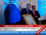 Başbakan Erdoğan'a 10 Yılın Devlet Adamı Ödülü