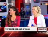 Ruslana moderatöre konuk oldu
