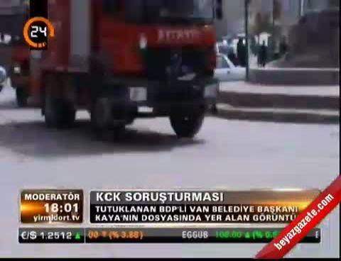 Tutuklanan Bdp'li Belediye Ba�kan� Kaya'n�n dosyas�nda yer alan g�r�nt�ler