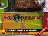 En büyük döner Ankara'da