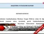 Turğut Özal'ın Şüpheli Ölümü