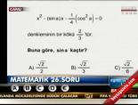 2012 LYS-1 Matematik Soru Ve Cevapları -2