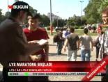 LYS maratonu başladı online video izle
