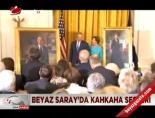Beyaz Saray'dan kahkaha sesleri