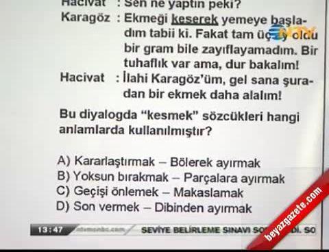 2012 SBS Türkçe Cevapları