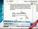 2012 SBS Fen-Teknoloji Cevapları