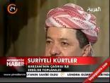 Barzani'nin çağrısı ile Erbil'de toplanıldı
