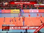 Genç kızlar Avrupa şampiyonu online video izle
